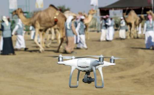 Drone in UAE for Security