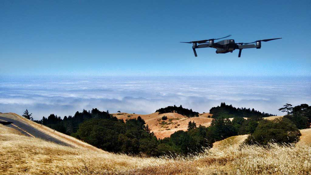 Aerial mapping or Drone surveying