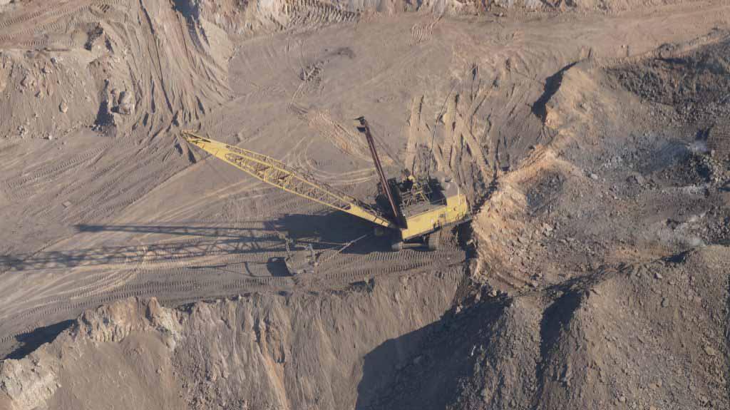 aerial survey scene