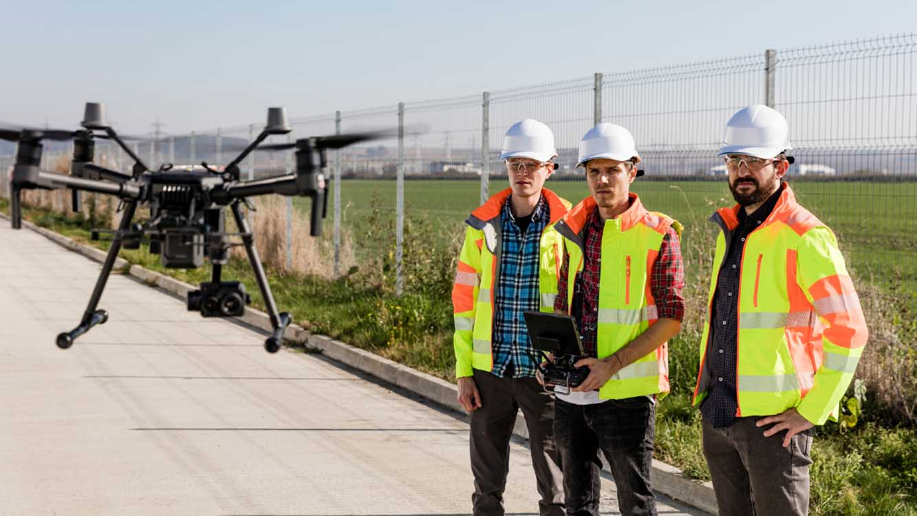 Most Important Drone Aerial Services For Gas & Oil Companies - Geo Drones