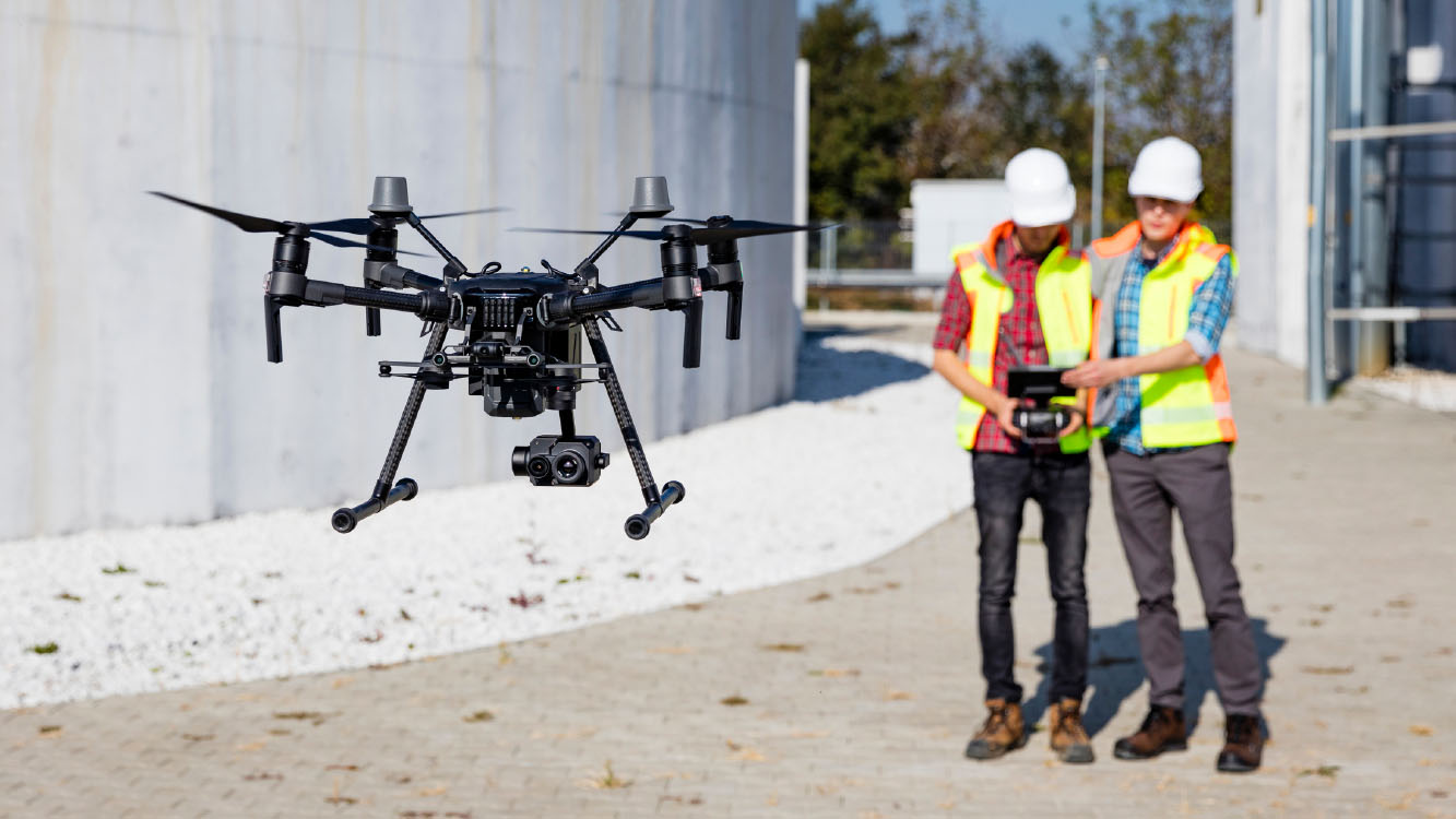 Drone Application For Building Modeling Information - drone aerial mapping - Geo Drones